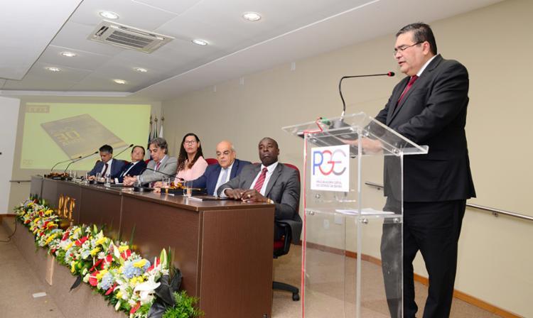 Procurador geral do Estado da Bahia, Paulo Moreno Carvalho, ressaltou que apesar de ser necessária, o ideal é que a lei não precisasse existir | Foto: Shirley Stolze | Ag A TARDE - Foto: Shirley Stolze | Ag A TARDE