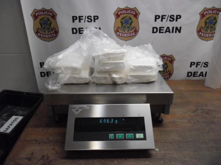 A PF informou que foram cumpridos oito mandados de busca e apreensão e nove mandados de prisão em SP e na BA. Foto: Divulgação | PF