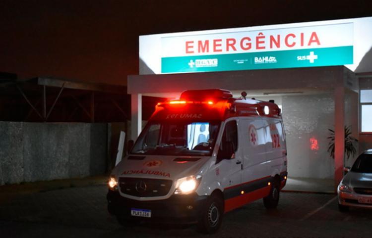 Vítima passou por uma cirurgia e segue internado   Foto: Reprodução   Blog do Anderson - Foto: Reprodução   Blog do Anderson