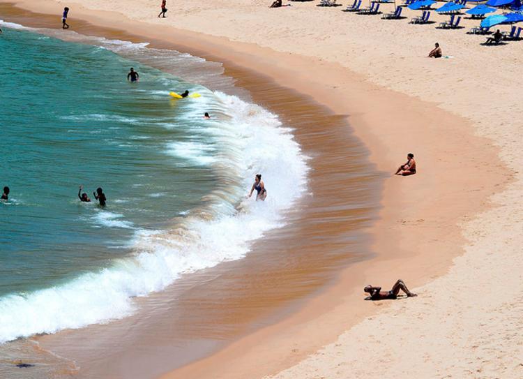 Seis praias de Salvador foram classificadas como impróprias pelo Inema   Foto: Shirley Stolze   Ag. A TARDE - Foto: Shirley Stolze   Ag. A TARDE