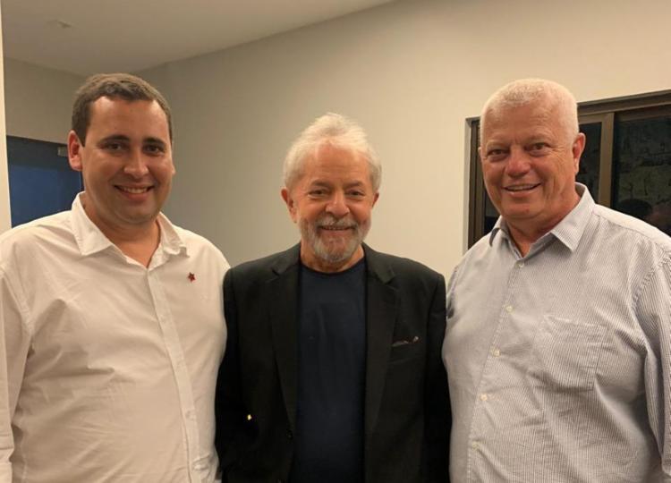Dirigentes do PT na Bahia participam da primeira reunião oficial com Lula | Foto: Divulgação | PT - Foto: Divulgação | PT