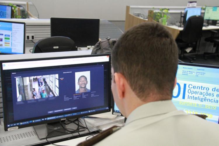 Esta tecnologia contabiliza agora 83 prisões | Foto: Divulgação | SSP - Foto: Divulgação|SSP