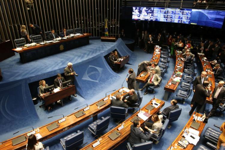 O texto principal da medida foi aprovado com 56 votos favoráveis e 11 contrários | Foto: Fabio Rodrigues Pozzebom | Agência Brasil - Foto: Fabio Rodrigues Pozzebom | Agência Brasil