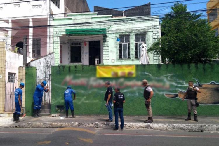 Responsáveis pelos imóveis não foram encontrados no momento da fiscalização | Foto: Divulgação | Embasa - Foto: Divulgação | Embasa