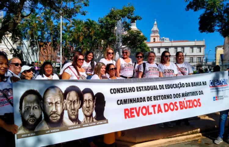 Heróis e heroínas da revolução baiana são homenageados em sessão especial no plenário Cosme de Farias | Foto: Hieros Vasconcelos | Divulgação - Foto: Hieros Vasconcelos | Divulgação