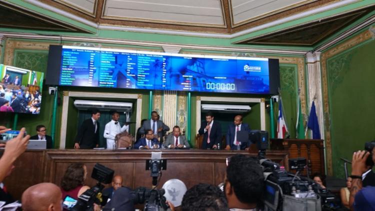 O presidente da Casa, Geraldo Junior disse que o balanço do processo foi positivo | Foto: Raul Aguillar | Ag. A TARDE - Foto: Raul Aguillar | Ag. A TARDE