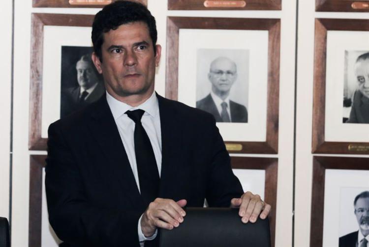 Ministro da Justiça e Segurança Pública, Sergio Moro, participará de reunião com líderes no Senado   Foto: Arquivo   Agência Brasil - Foto: Arquivo   Agência Brasil