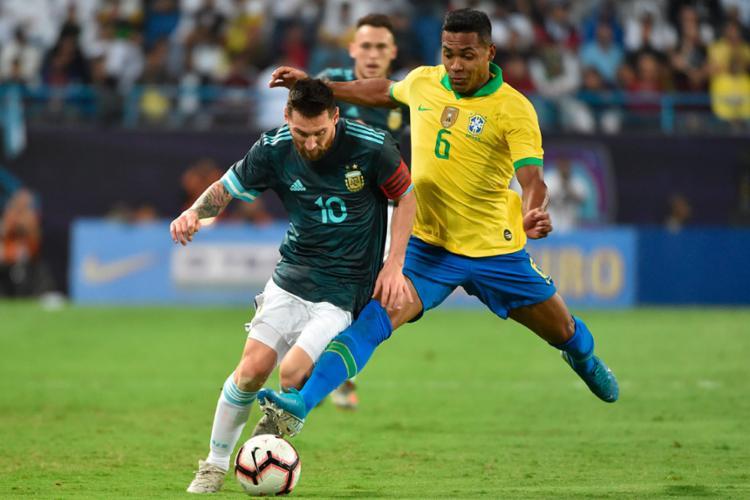 Seleção volta a jogar mal e chega ao quinto jogo seguido sem vitória depois da Copa América | Fayez Nureldine | AFP - Foto: Fayez Nureldine | AFP