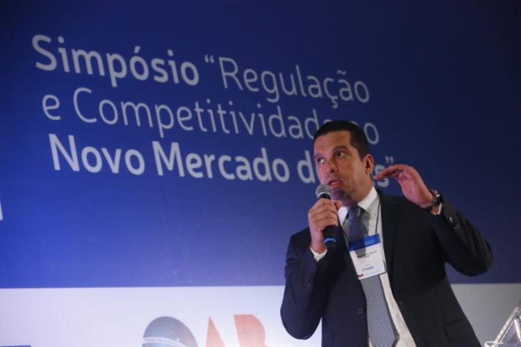 Gustavo de Marchi afirmou é necessário levar proposições de temas ao Congresso Nacional para aprimorar o mercado   Foto: Rafael Martins   Ag. A TARDE - Foto: Rafael Martins   Ag. A TARDE