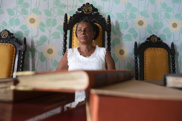 Atual presidente da SPD, Ligia Margarida de Jesus demorou dez anos para ser admitida como sócia - Foto: Felipe Iruatã / Ag. A Tarde