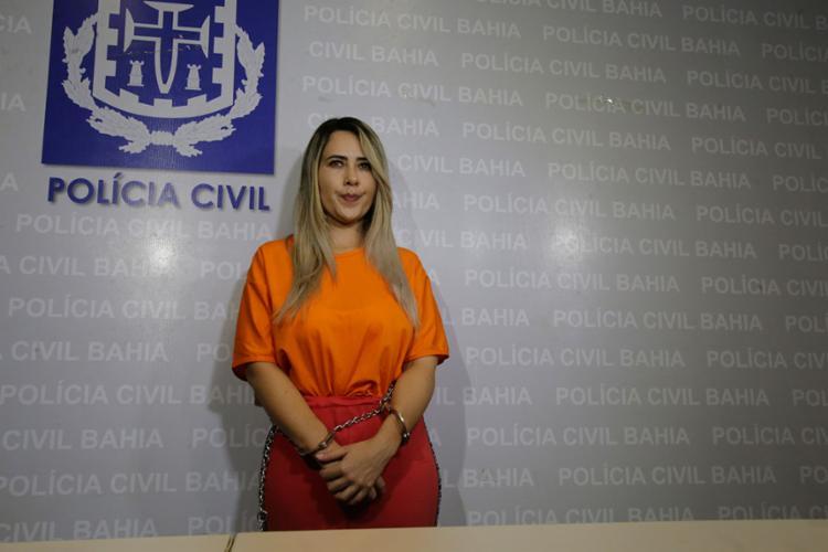 Dona Maria foi presa no último dia 25 de setembro, em São Paulo | Foto: Luciano da Matta | Ag. A TARDE - Foto: Luciano da Matta | Ag. A TARDE