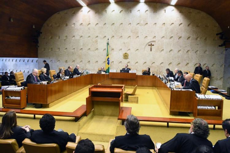 Por 6 votos a 5, a Corte reverteu seu próprio entendimento, que autorizou as prisões, em 2016 - Foto: Carlos Alves Moura | Agência Brasil