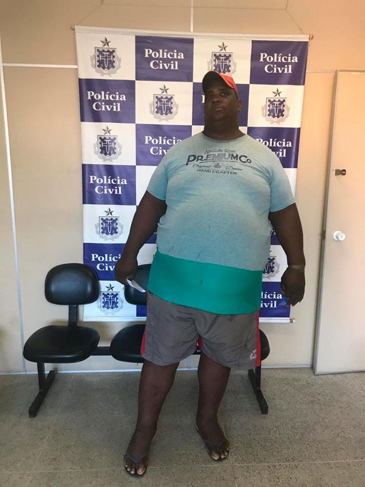 Suspeito foi autuado em flagrante | Divulgação | SSP - Foto: Divulgação | SSP