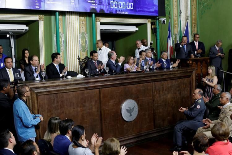 Câmara de Salvador não ultrapassou o limite de 6% previsto na Lei de Responsabilidade Fiscal   Foto: Adilton Venegeroles   Ag. A TARDE - Foto: Adilton Venegeroles   Ag. A TARDE