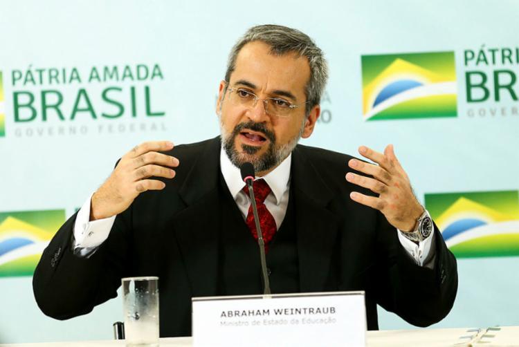 Ministro da Educação informou o tema via Twitter - Foto: Marcelo Camargo | Agência Brasil