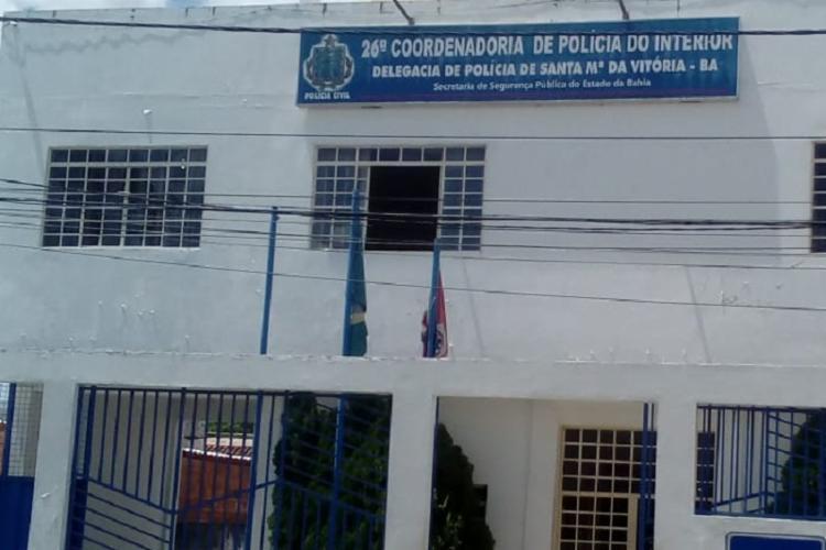 O material apreendido foi apresentado na Delegacia Territorial de Santa Maria da Vitória   Foto: Reprodução - Foto: Reprodução