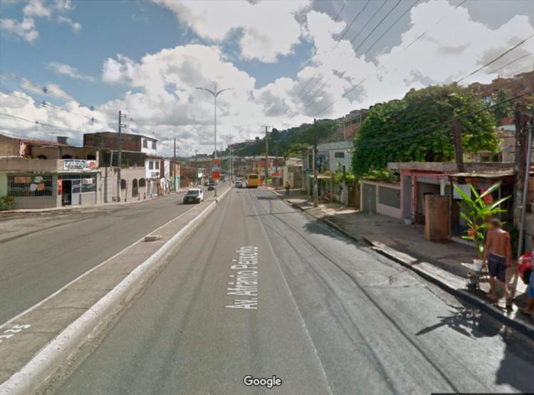 Alteração ocorre devido as obras da Ligação Lobato x Pirajá | Foto: Reprodução | Google Maps - Foto: Reprodução | Google Maps
