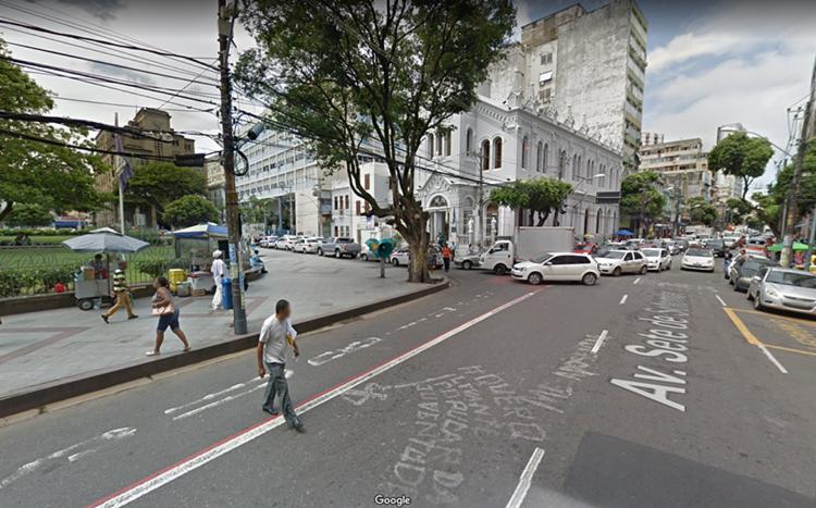 Bloqueio ocorre no trecho que vai desde a Rua Forte de São Pedro até a Praça da Piedade | Foto: Divulgação - Foto: Divulgação