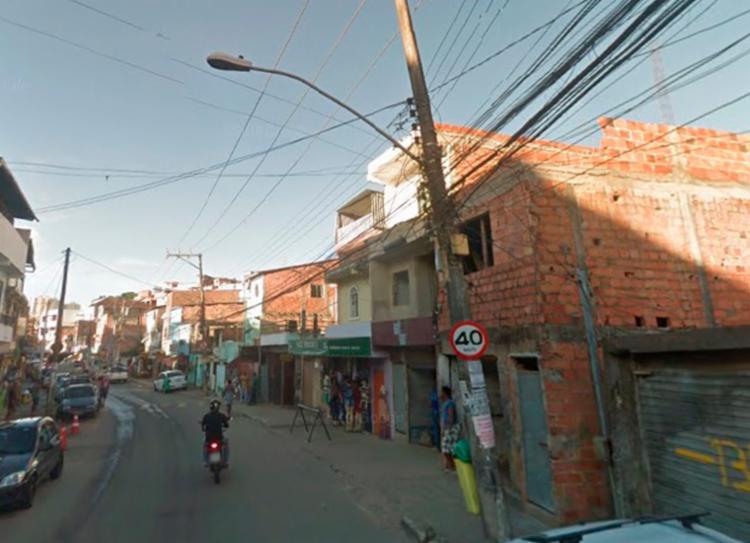 Confronto entre criminosos aconteceu no Vale da Muriçoca | Foto: Reprodução | Google Street View - Foto: Reprodução | Google Street View