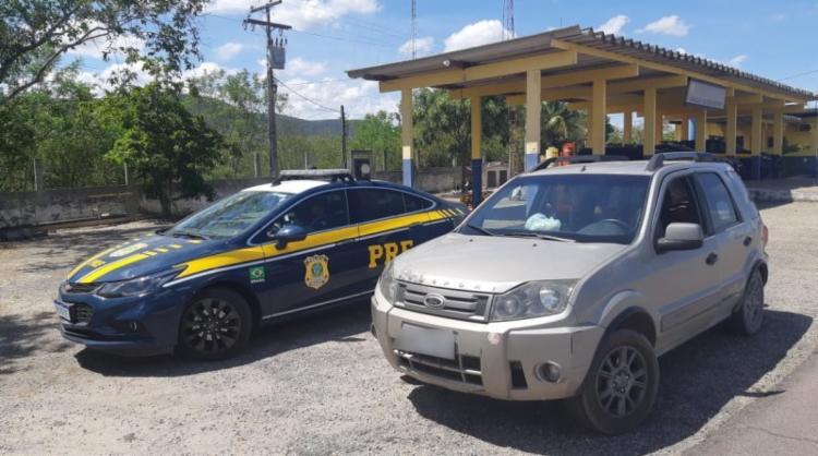 Veículo havia sido roubado em 2014 | Foto: Divulgação | PRF - Foto: Divulgação | PRF