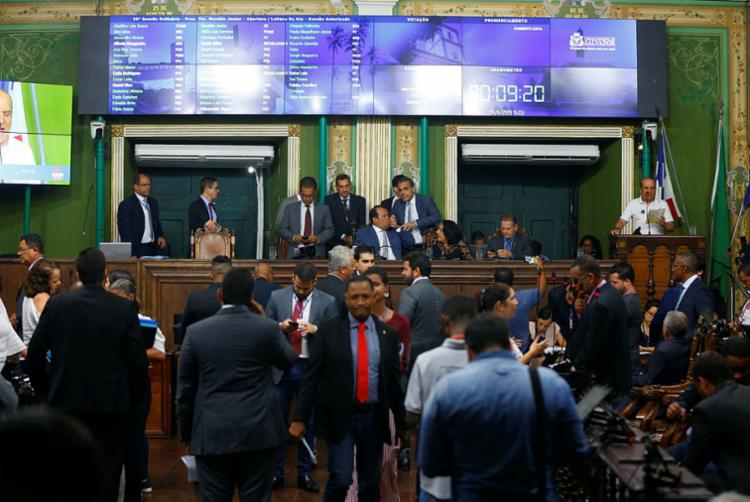 A previsão foi discutida na reunião do Colégio de Líderes na manhã desta terça-feira, 5. Foto: Rafael Martins | Ag A Tarde - Foto: Rafael Martins | Ag A Tarde
