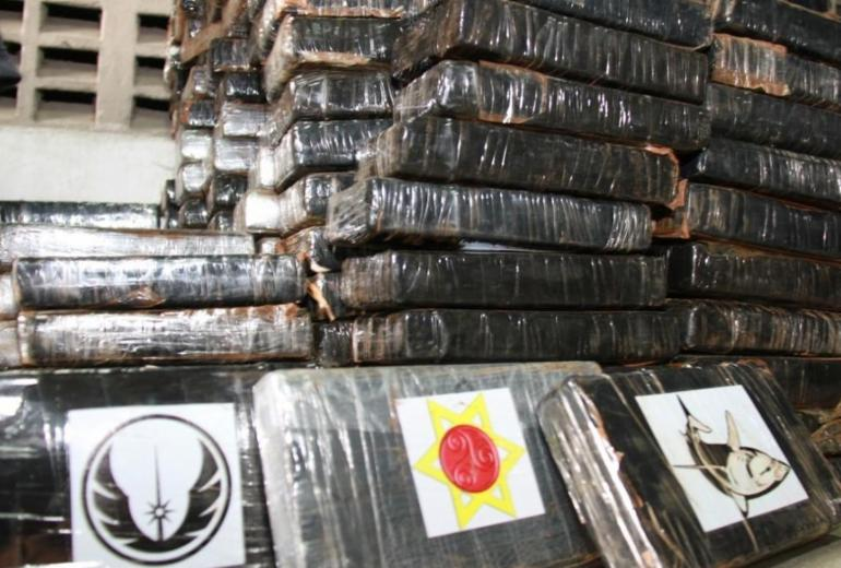Bope e PF fazem maior apreensão de cocaína da história da Bahia | Divulgação | SSP