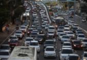 Após chacina, motoristas de apps fazem novo protesto em Salvador | Foto: Felipe Iruatã | Ag. A TARDE