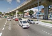 Três veículos colidem na avenida Bonocô | Foto: Reprodução | StreetView