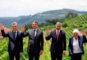 Bolsonaro passa presidência do Mercosul para o Paraguai | Foto: Reuters | Diego Vara | Direitos Reservados