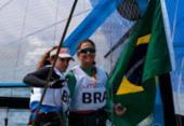 Brasileiras Martine Grael e Kahena Kunze avançam no Mundial de Vela | Foto: Guillermo Arias | Lima 2019