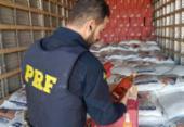 Carga com quase 10 mil litros de whisky falsificado é apreendida na BR-116 | Foto: Divulgação | PRF