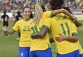 Seleção feminina aumenta série invicta e encerra 2019 com vitória | Foto: