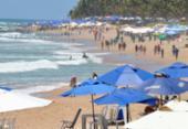 Corpo é encontrado na Praia do Flamengo | Foto: Shirley Stolze | Ag A Tarde