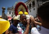 Santa Luzia tem dia de homenagens no Comércio | Foto: Raul Spinassé | Ag. A TARDE