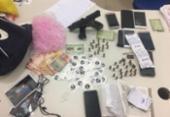 Suspeitos de tráfico de drogas são presos em Teodoro Sampaio | Foto: Divulgação | SSP