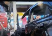 Dentista fica ferido após bater carro no Imbuí | Reprodução | TV Bahia
