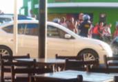 Acidente entre carro e moto deixa um ferido na Barra | Cidadão Repórter | Via Whatsapp