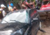 Dois motoristas ficam gravemente feridos em acidente | Reprodução | Radar 64
