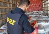 Carga com quase 10 mil litros de whisky é apreendida   Divulgação   PRF