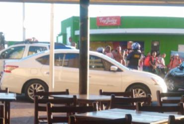 Acidente entre carro e moto deixa um ferido na região da Barra | Cidadão Repórter | Via Whatsapp