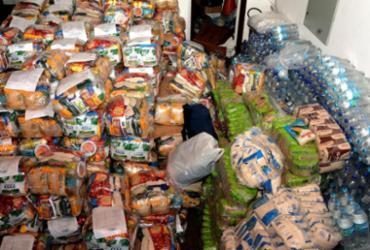 Famílias atingidas pela chuva receberão toneladas de alimentos | Divulgação