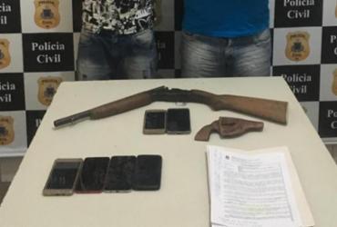 Suspeitos são presos durante operação em Juazeiro | Divulgação | Ascom-PC