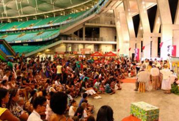 Arena Fonte Nova promove terceira edição de festa natalina beneficente | Hilso Júnior | Ag. A TARDE