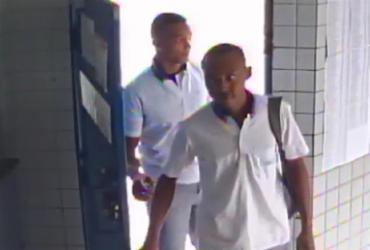 Câmeras mostram imagens dos suspeitos de assaltar empresa de ônibus | Divulgação | SSP