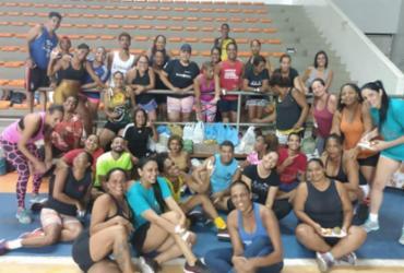 Baleado solidário: grupo de Cajazeiras faz doações para vítimas da chuva | Divulgação