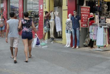 Comércio varejista deve faturar R$ 7,3 bilhões em dezembro | Uendel Galter | Ag. A TARDE