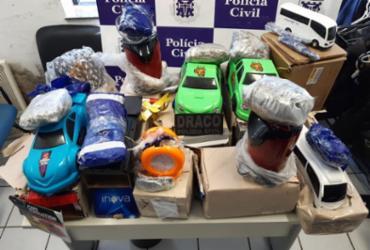 Polícia apreende drogas durante operação em Camaçari | Divulgação | Ascom-PC