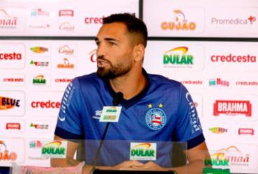 Gilberto avalia temporada e espera voltar a marcar na Fonte Nova | Felipe Oliveira | EC Bahia