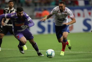 Bahia sai na frente mas cede o empate para o Vasco no fim da partida | Adilton Venegeroles | Ag. A TARDE
