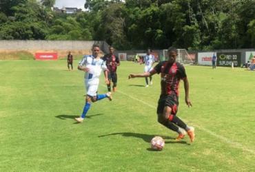 Em jogo-treino, Vitória Sub-20 aplica 4 a 1 diante do Olímpia   Letícia Martins   EC Vitória